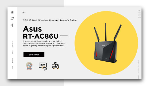 best wireless routers-Asus RT-AC86U