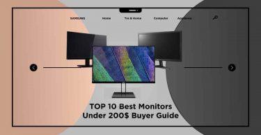 Best Monitors Under 200$