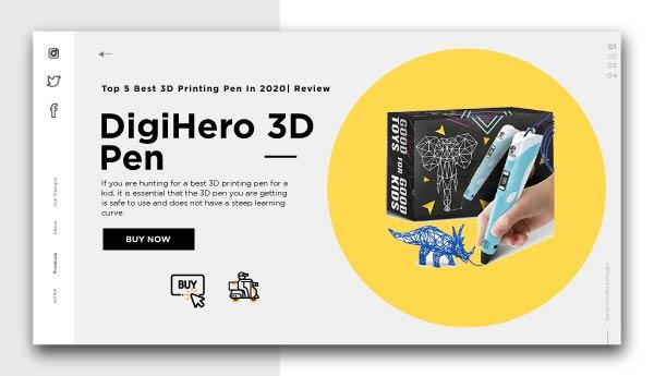 3d printing pen-DigiHero 3D Pen