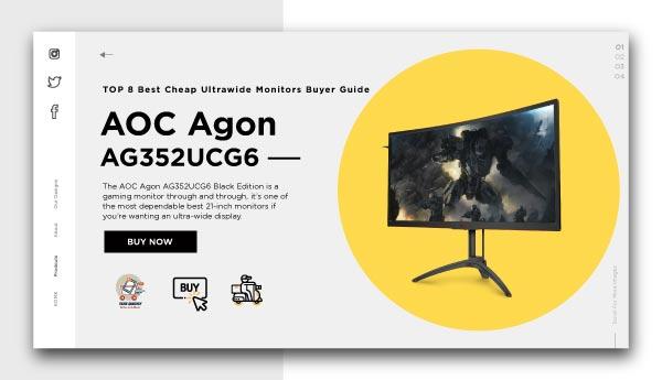 best 21 inch monitors -AOC Agon AG352UCG6