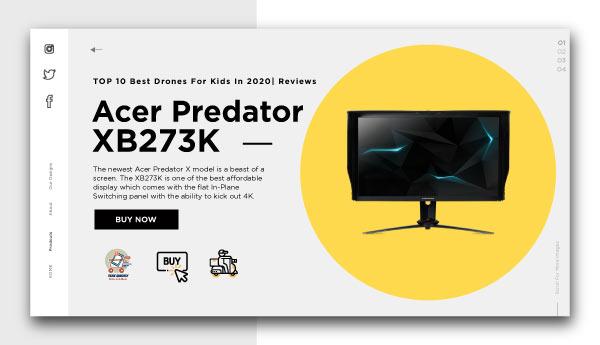 best affordable monitors-Acer Predator XB273K