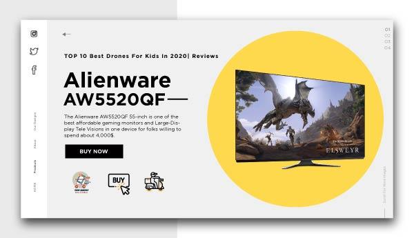 best affordable monitors-Alienware