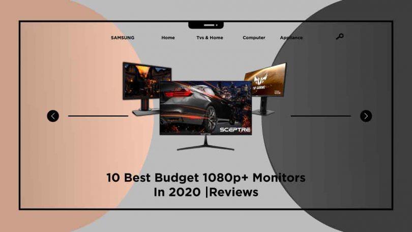 best budget 1080p+ monitors