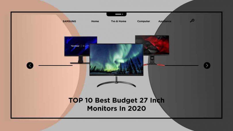 best budget 27 inch monitors