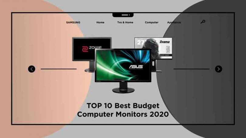 best budget computer monitors