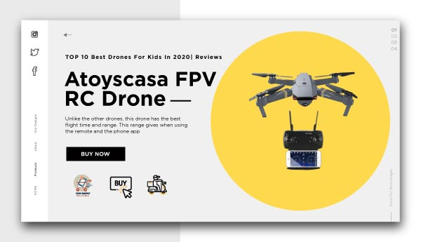 best drones for kids-Atoyscasa