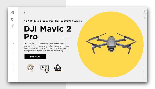 best drones for kids-DJI Mavic 2 Pro