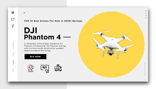 best drones for kids-DJI Phantom 4