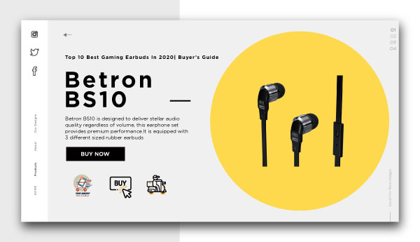 best gaming earbuds-Betron BS10