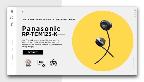 best gaming earbuds-Panasonic