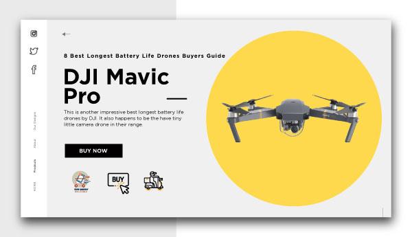 best longest battery life drones-DJI Mavic Pro