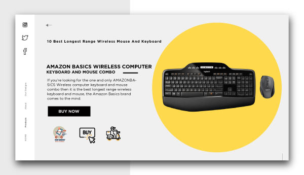 best longest range wireless mouse and keyboard-KEYBOARD AND MOUSE COMBO