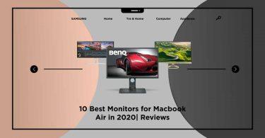best monitors for macbook air