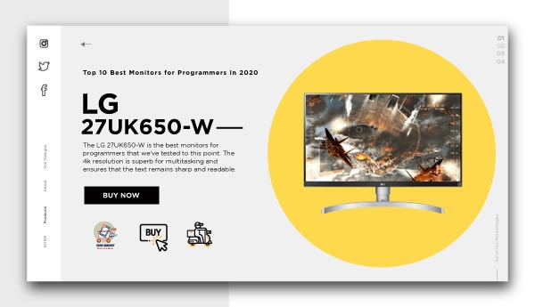 best monitors for programmers-LG-27UK650 W