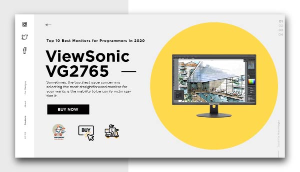 best monitors for programmers-ViewSonic VG2765