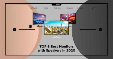 best monitors with speakers
