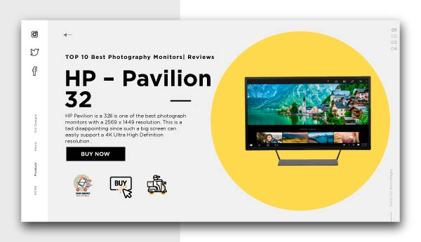 best photography monitors-0HP – Pavilion 32