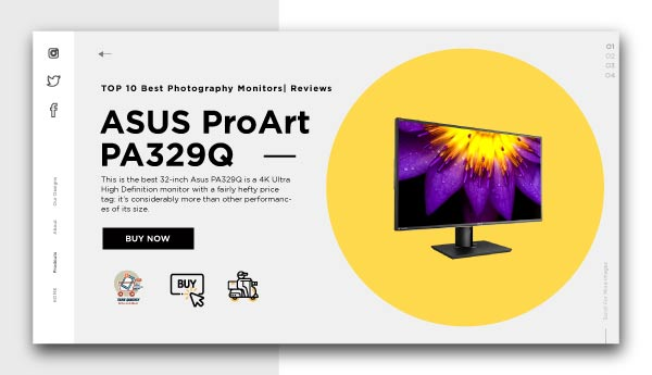 best photography monitors-ASUS ProArt PA329Q