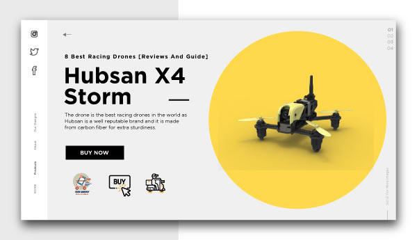 best racing drones-Hubsan X4 Storm