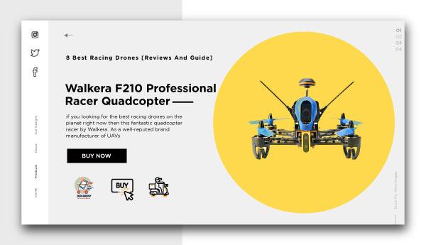best racing drones-Walkera F210