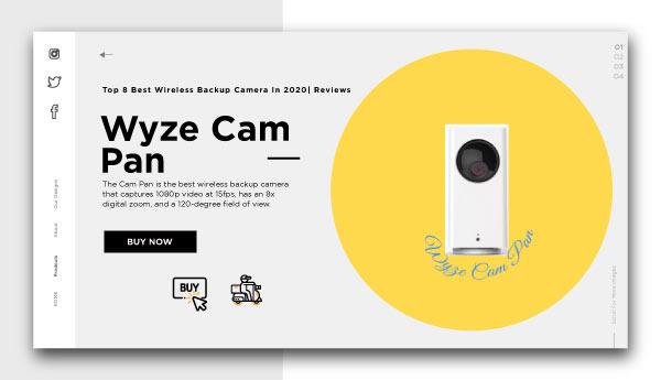 best wireless backup camera-Wyze-Cam-Pan