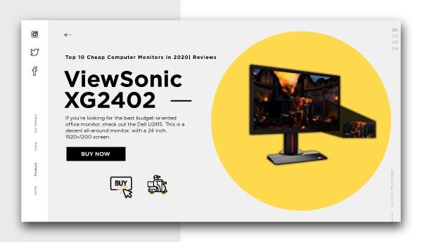 cheap computer monitors-ViewSonic XG2402