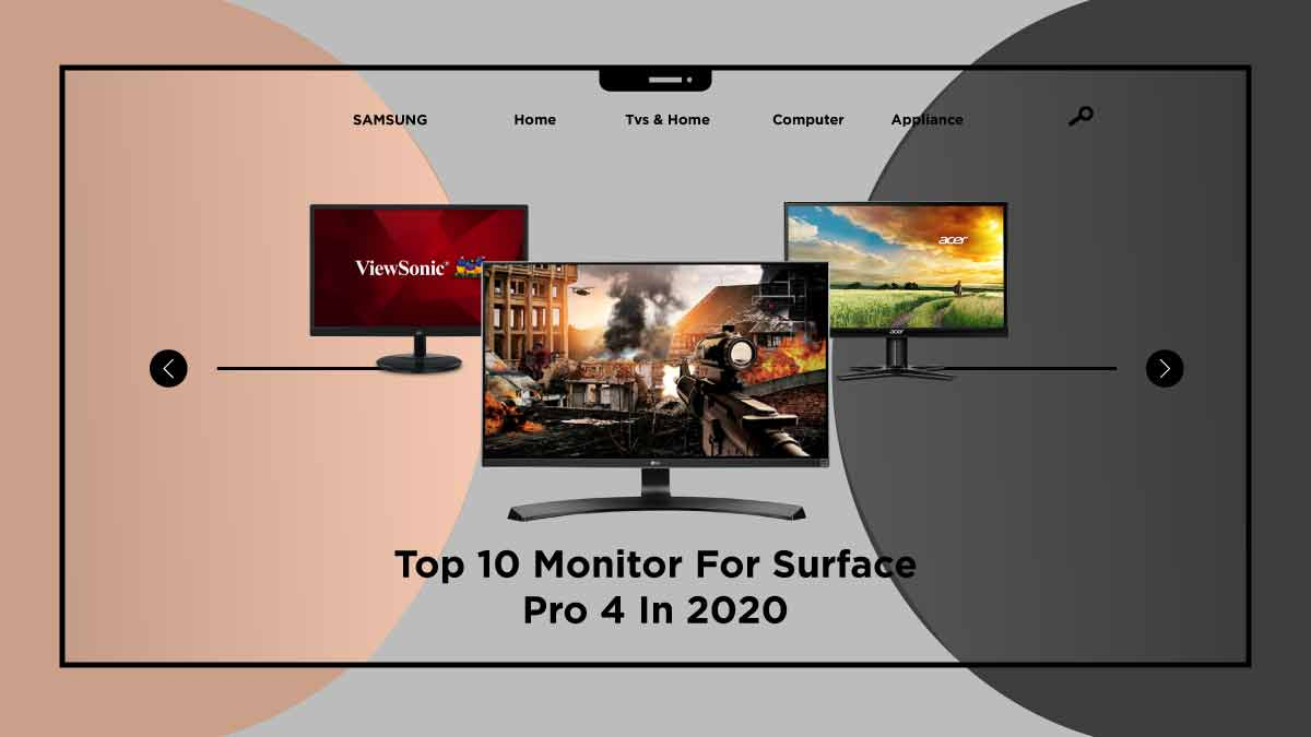 monitor for surface pro 4