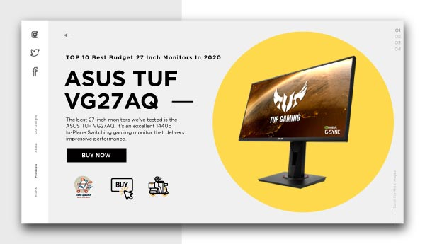best budget 27 inch monitors-ASUS-TUF-VG27AQ_