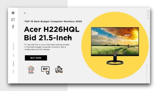 best budget computer monitors-Acer H226HQL