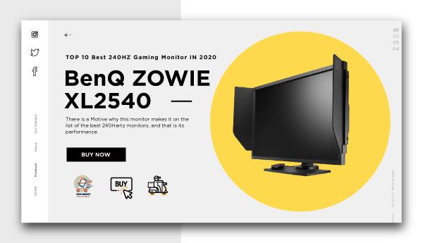 best 240HZ gaming monitor-BenQ-ZOWIE-XL2540