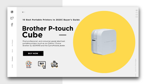 best portable printers-Brother-P-touch-Cube