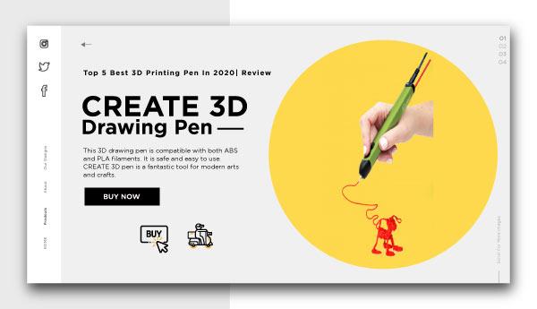 3d printing pen-CREATE-3D-Drawing-Pen
