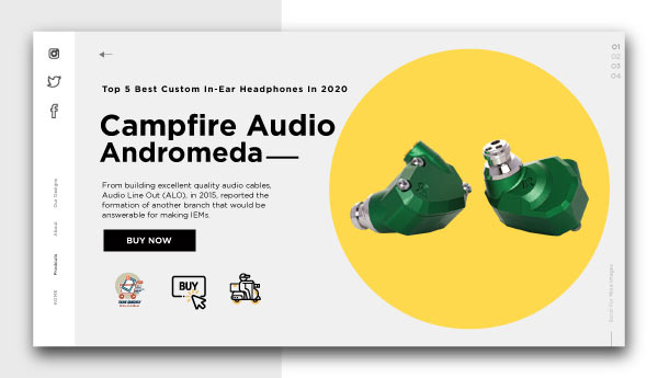 best custom in-ear headphones-Campfire Audio Andromeda
