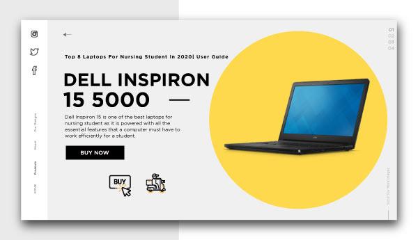 best laptop for nursing student-DELL-INSPIRON-15-5000