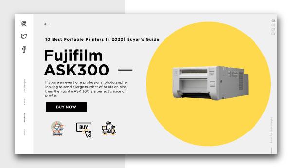 best portable printers-Fujifilm-ASK300