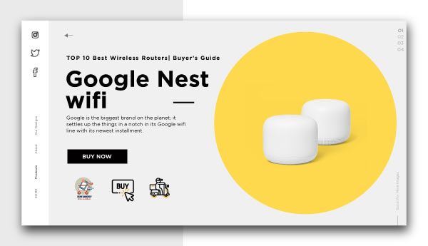 best wireless routers-Google-Nest-wifi