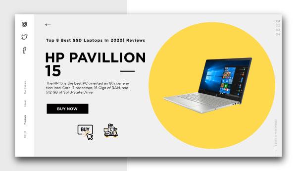 best ssd laptops-HP-PAVILLION-15