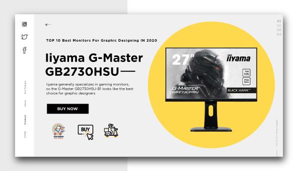 monitors for graphic designing -Iiyama G-Master GB2730HSU