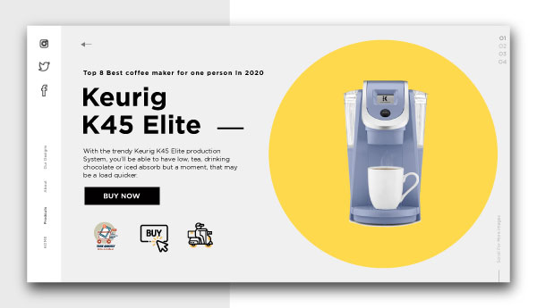 best coffee maker for one person-Keurig-K45-Elite-production-System