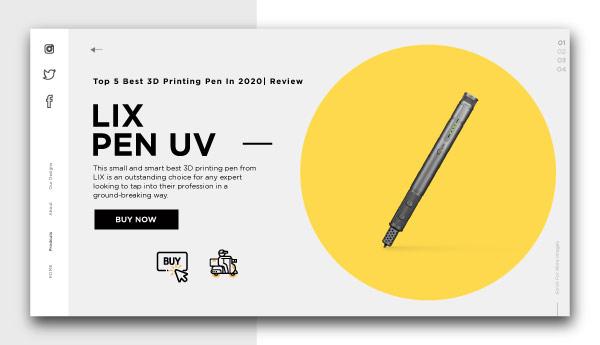 3d printing pen-LIX-PEN-UV