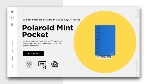 best portable printers-Polaroid-Mint-Pocket