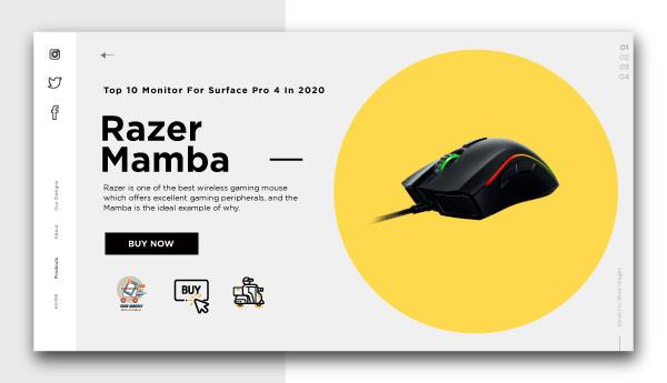 best wireless gaming mouse-Razer-Mamba