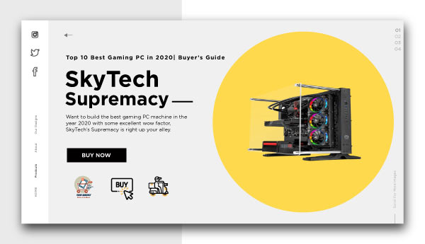 best gaming pc-SkyTech-Supremacy