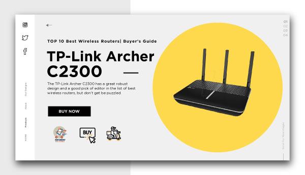 best wireless routers-TP-Link-Archer-C2300