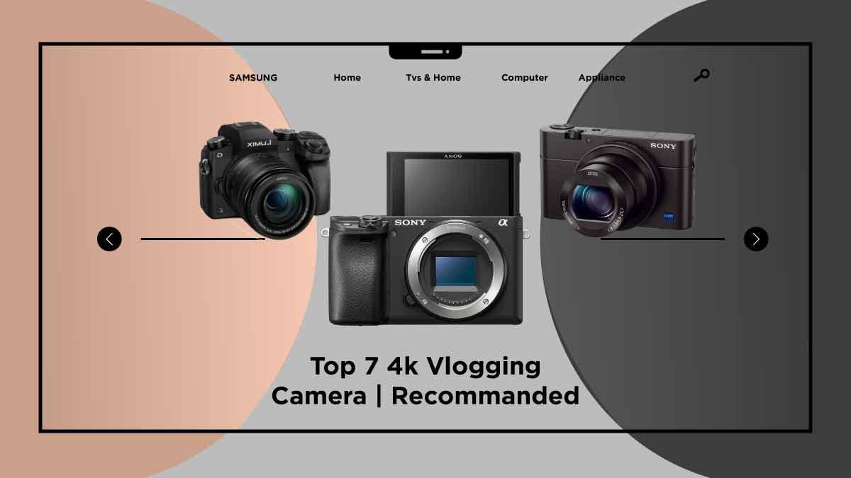 4k vlogging camera