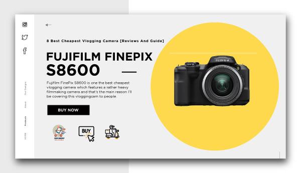 best cheapest vlogging camera-FUJIFILM-FINEPIX-S8600