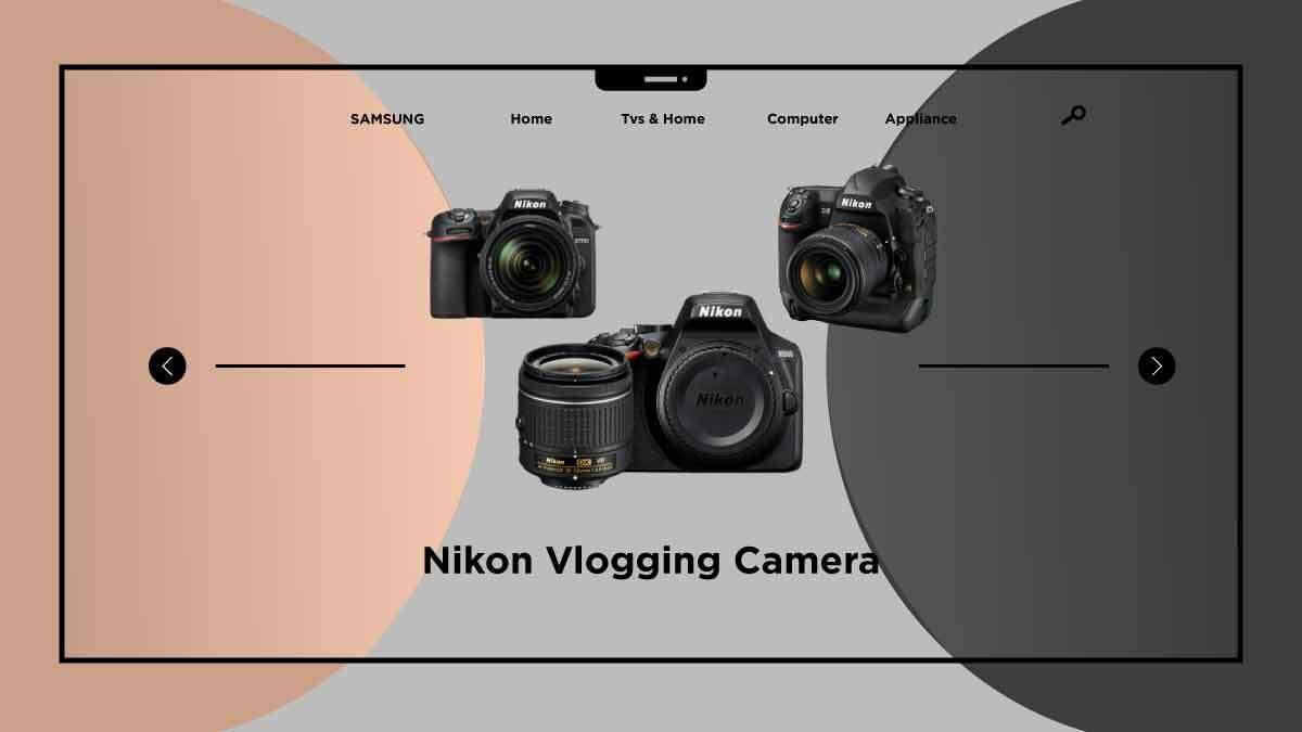 Nikon Vlogging Camera-take quickly