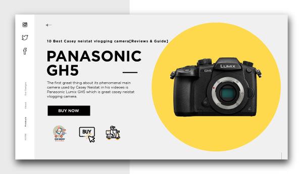 casey neistat vlogging camera-PANASONIC-GH5