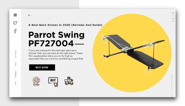 best nano drones-Parrot-Swing-PF727004