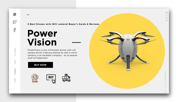 Best Drones with Wifi camera-PowerVision
